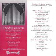 Concerto 12 Novembre