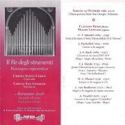 Concerto 15 Ottobre