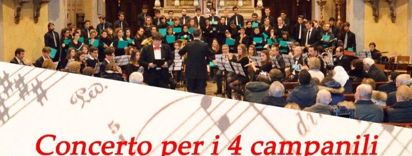Concerto per i quattro campanili