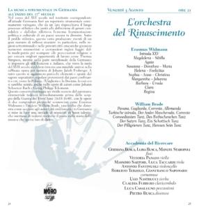 L'Orchestra del Rinascimento