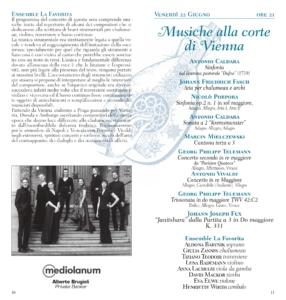 Musiche alla corte di Vienna